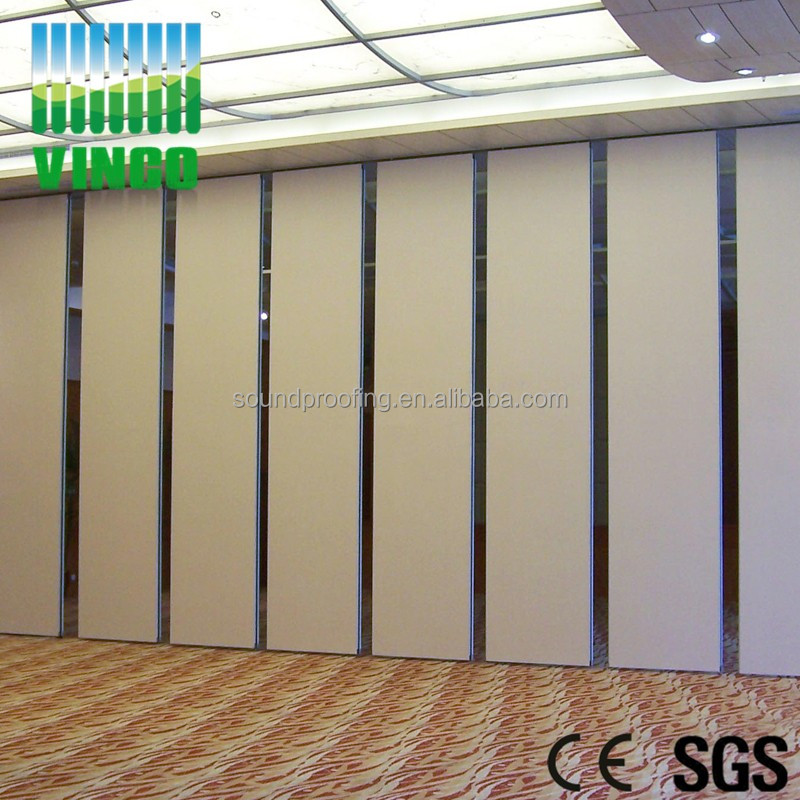 Construction Material Movable Sound Proof Partition Wall Movable Wall Dividers