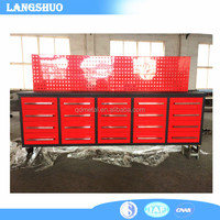 Steel Used Drawer Tool Cabinets/Tool Box Chest/Workbench For Sale