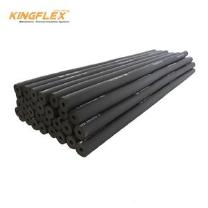 Customized Plastic PVC/NBR Foam Black Soft Round Heat Insulation High quality NBR rubber foam tube/pipe/hose