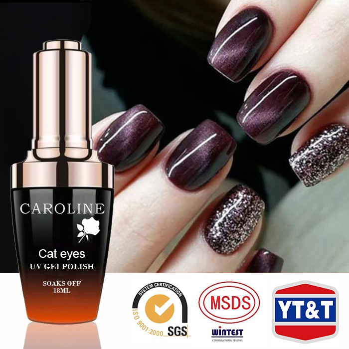 Wholesale Cheap Customisable Logo Cat Eye Gel Polish