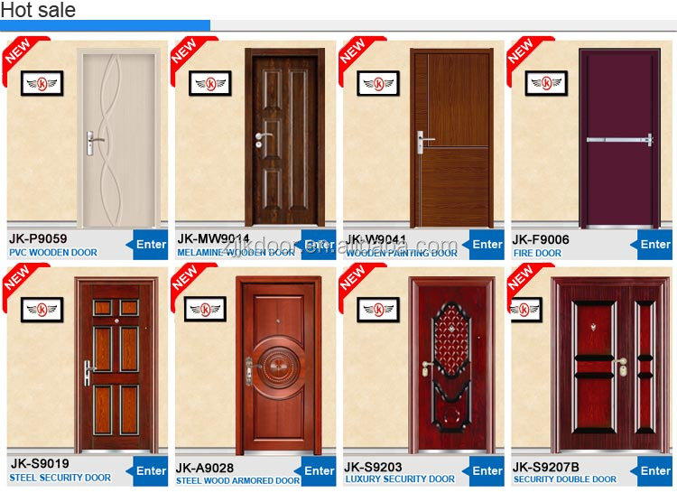jk s9208 bedroom interior door sss steel door security