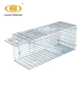 Easy-to-catch stainless steel portable crab trap magpie trap cage