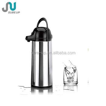 Spanish Hot Vacuum Gl Liner Air Pressure Coffee Pot Thermos 1 9l