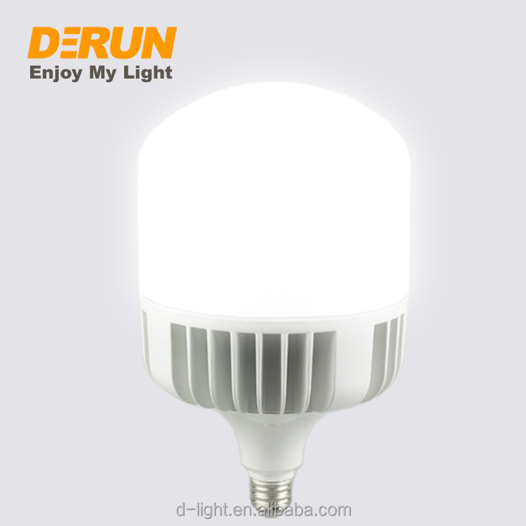 Hot Sales High Power Lights 20W 30W 40W 50W 60W 70W 80W 100W Aluminum 110V 130V 220V 230V E26 E27 E40 LED T BULB Lamp , LED-T-AL