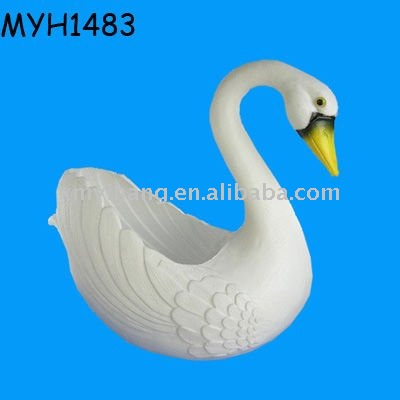 Ceramic Swan Flower Pot Buy Flower Pot Swan Planter Swan Pot