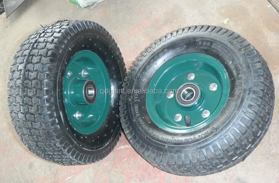 13x5.00-6 wheelbarrow wheel for lawn mover, tool cart wheel