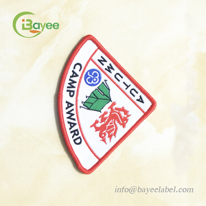 School Uniform Name Fabric Patch Woven Badge