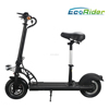 2017 Ecorider E4-6 Adults Foldable Electric Scooter 36v 500w 2 wheel mini folding electric scooter with seat
