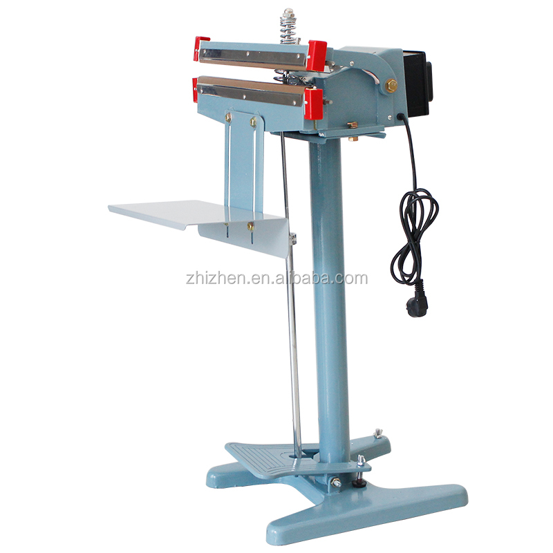 PFS-450x2 double-side heating pedal impulse sealer & semi-auto foot impulse sealing machine