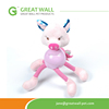Lovely pink pig animal Plush Toys for pets as a gift