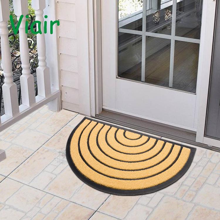 181e89755a0e Half Round Door Mat Entrance Rug Floor Mats Ripple Pattern Mat Garage Entry  Carpet Custom Print Rubber Door Mat - Buy Print Door Mat,Rubber Door ...