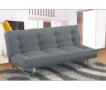 Metal Futon Furniture Linen Sofa Come