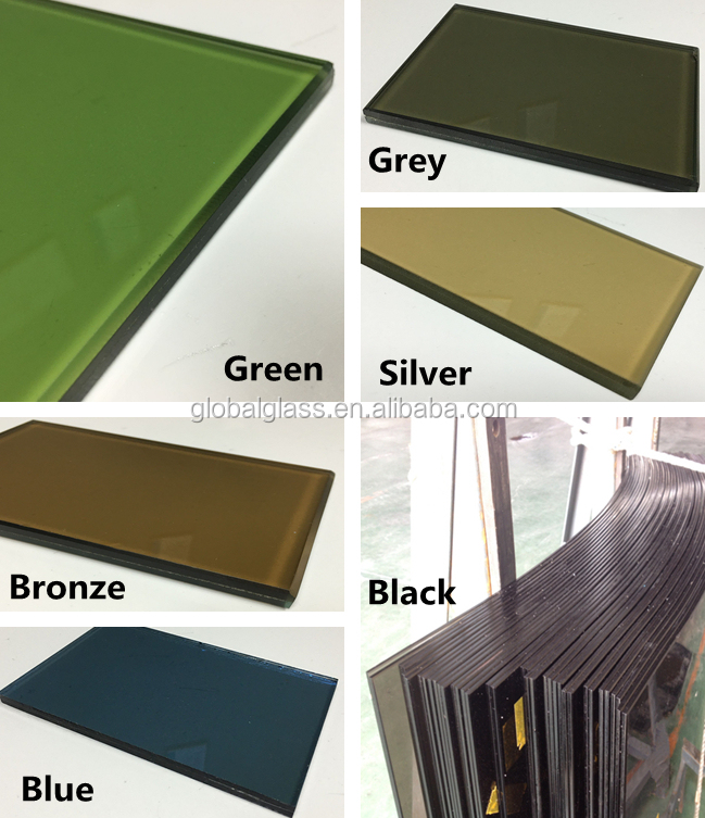 Competitive price energy saving dark blue reflective laminated glass supplier