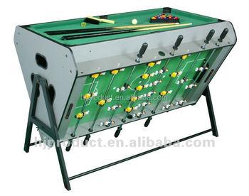 In Rotating Multi Game Tableair HockeyFoosball RablePool - Rolling pool table