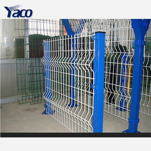 hot dip galvanized steel I type fence posts for welded wire mesh panels