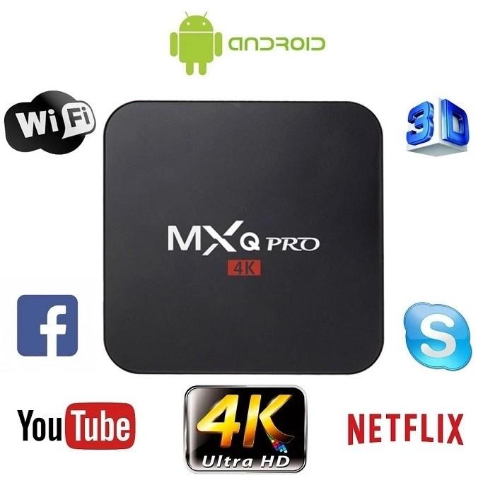 2019 Hot Products Amlogic S905W Mxq Pro 4K Smart Tv Box
