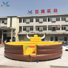 Amusement park games inflatable rodeo bull , inflatable bull riding mechanical bull for sale