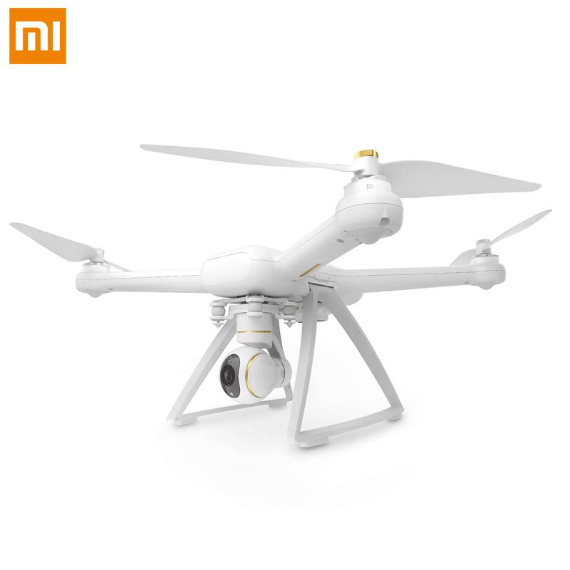 Original xiaomi mi drone com gps/câmeras hd 4 k wifi fpv 5 ghz 3840x2160 p/30fps quadricopters rc com voo apontando