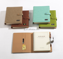Creative cover metal brand notebook coil