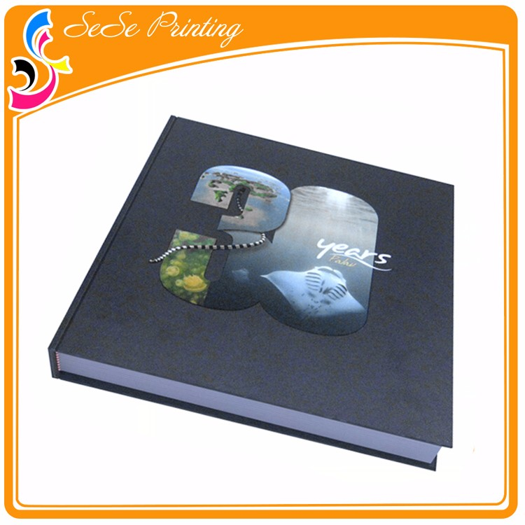 Custom Cheap Hardcover Spot Uv Book Printing Suppliers
