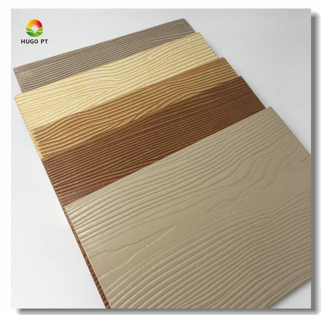 Fiber Cement Material Facade Exterior Wood Siding Panels For Exterior Wall - Fiber Cement Material Facade Exterior Wood Siding Panels For