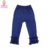 2017 Newest Design Kids Cotton Leggings Toddler Cheap Tight Capris Boutique Baby Girl Red Stripes Triple Ruffle Pants
