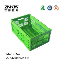 PP vegetables foldable warehouse stackable storage Plastic bins