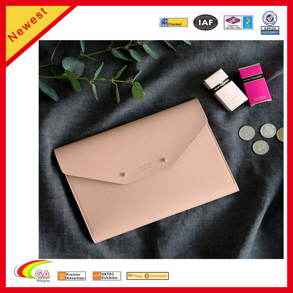 2018 Executive PU Leather Waterproof Portfolio Bag Briefcase for Business