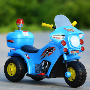 Baby Toys battery police cars toy electric kids mini motorcycle 4colors