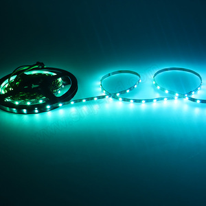 DC5V high brightness mini 5mm width ws2812b led strips multi color changing led rope light addressable led tube