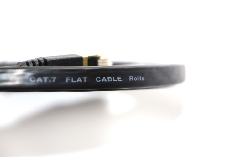 Made in China best price 2m CAT7 Flat Patch Cable