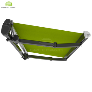 Greenawn awnings parts supplier aluminum outdoor retractable awnings
