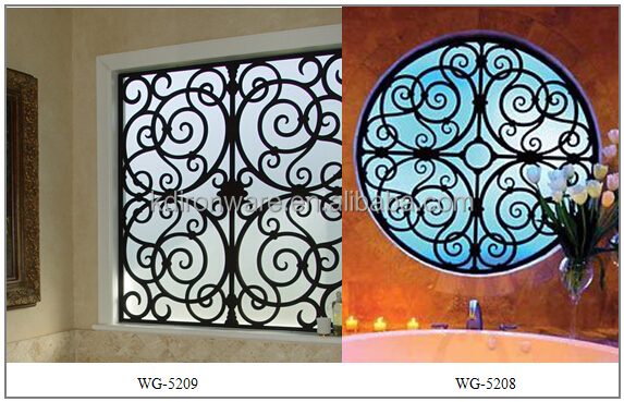 Simple Modern French House Wrought Iron Metal Window Grill Design ...