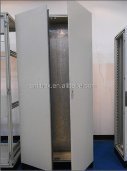 Tibox Knock Down Floor Standing Metal Display Control Cabinets Electrical Panels