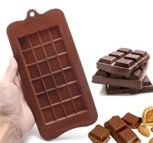 Reutilizável Food Grade Silicone Moldes de Chocolate.