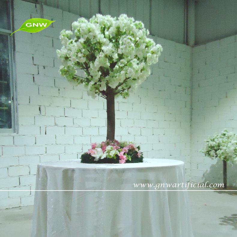 Gnw Ctr1503 2 Artificial 120cm High Wedding Table Tree Centerpieces