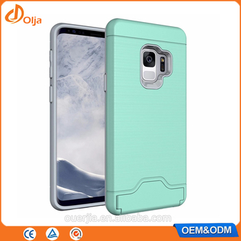 low priced 0ff85 80c4a Tpu Pc Hard Card Holder Mobile Case Covers Back Cover For Samsung Galaxy J6  Card Slot Phone Case For Samsung S9 Case Phone Cover - Buy For Samsung S9  ...