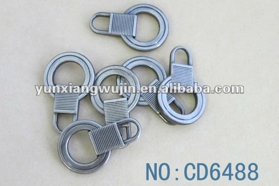 2013 new design metal zipper slider/puller