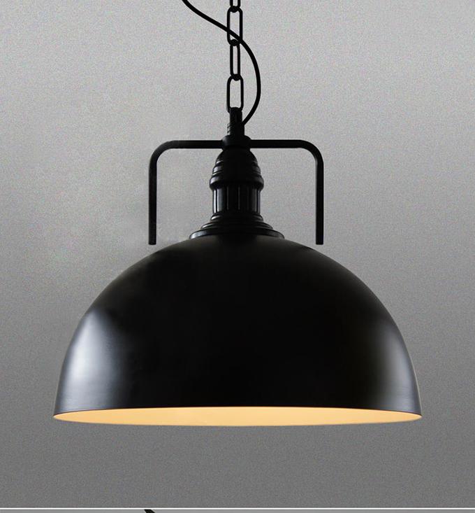 industriale singola testa lampade a sospensione per salone di camere d'albergo uffici-Lampadari ...