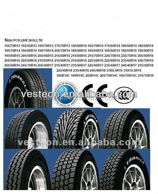Tyre 205/50R16 With With ECE, DOT, GCC, SONCAP, ISO