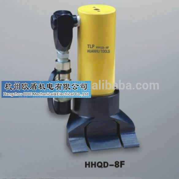 Hydraulic track jacks, intergral type, 17 mm jaw height, HHQD-8F
