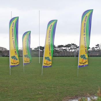 New Design World Sports Flags Banner Polyester Fabric Flag