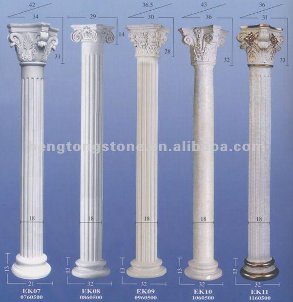 Hand Carved Marble Roman Round Pillar Buy Roman Round Pillars