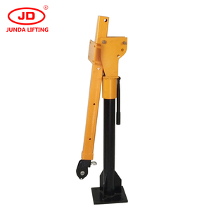 8 ton hydraulic pick up truck crane with winch