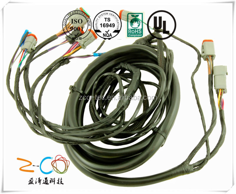 Hid wiring harness controller hid wiring harness controller