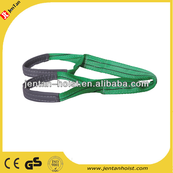 6 times 5T heavy duty eye to eye Polyester Webbing Sling belt