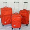 Best sell Polyester light weight suitcase luggage spinner trolley bag school outdoor storage