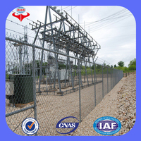 Anping cheap galvanized chain link fence miami/diamond shaped chain link mesh(ISO9001 Factory)