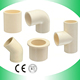 Hot water supply cpvc/pvc plastic sanitary pipe fittings pn16