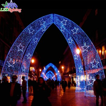Artificial Led Christmas Lights Outdoor Waterproof Arch Motif - Buy  Artificial Led Christmas Lights Outdoor Waterproof Arch Motif,Christmas Led  Street Light ... - Artificial Led Christmas Lights Outdoor Waterproof Arch Motif - Buy
